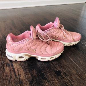 b482c12d59 Nike Shoes - Womens Nike Air Max Plus Rust Pink/Rose Gold Shoes